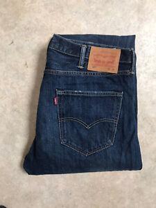 Jean Levis 501 Vintage Taille Haute W38 L34 Taille 48