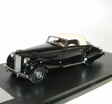 Glm-great Lighting Models Packard 1601 Eight Graber Cabriolet 1938 Black 1/43