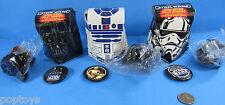 JELLY CANDY box button '96 vtg BRITISH Star Wars DARTH VADER STORMTROOPER R2-D2