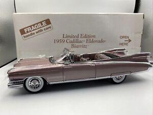 1/24 Danbury Mint 1957 Cadillac Eldorado Biarritz Limited Lavender SWEET