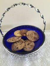 Decorative Display Tray With Folding Handle