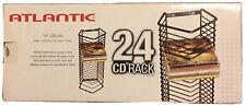 cd rack black