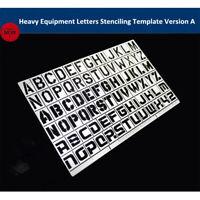 1//35 Scale General Use Handprint Footprint Model Stencil Scene Details Up Tools