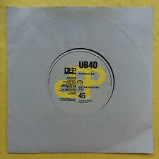 UB40 - Don't Break My Heart / Mek Ya Rok - DEP 22 Ex Condition