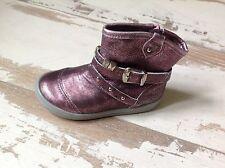 P21 - Chaussures Bottines Fille NOEL NEUVES - Modèle Mini OMA Rose (80.00 €)
