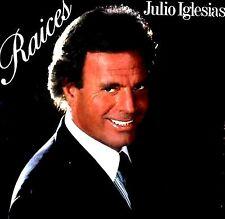 LP - Julio Iglesias - Raices (Latin) SPANISH EDIT. 1989, NEW, STOCK STORE, NUEVO