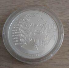 Pièce de 10 euros, FRANCE, 2014, Voltaire, sous capsule