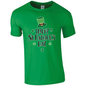 Happy St Patrick's Day Irish Ireland T-shirt Tshirt Men Women Unisex 6174