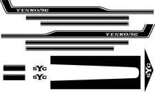 1969 Camaro Black SYC Yenko Stripe Set
