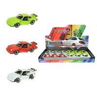 Porsche 911 Turbo 930 Sportwagen Modellauto Auto Zufällige Farbe! 1:34