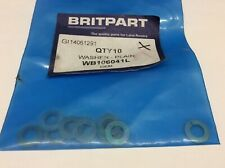 Land Rover Series/101/Defender - 10 Pack- 1/4 Inch Flat Body Washer - WB106041L