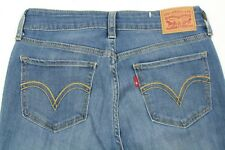 Levi's Women's Blue Jeans Skinny Stretch Denim Size 27