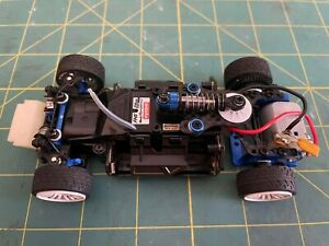 Used 1/28 Kyosho Mini Z mr03-n-rm Sport 2 with hop-ups and extra bodies