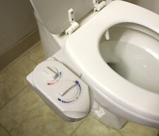 Nozzle Hot Cold Water Spray Non-Electric Bidet Bathroom Toilet Seat Attachment