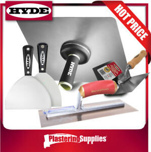 Hyde Trowel Kit Professional Drywall Plaster Hawk Trowel Kit