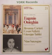GML 21 - TCHAIKOVSKY - Eugene Onegin highlights SANZOGNO / CARTERI- Ex LP Record