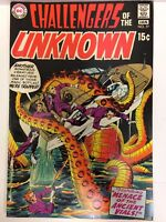 Challengers of the Unknown #77 Comic Book DC 1970