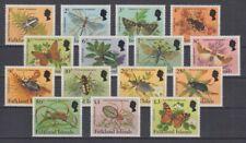 D.Falkland Islands 390 - 404 Insect (MNH)