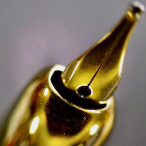 NAMIKI PILOT VANISHING POINT Cobalt Fountain Pen PILOT 18K Gold M Nib Serviced