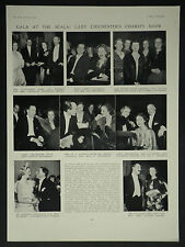 Lady Chichester Hospital Charity Gala Party Scala Theatre 1936 Photo Article