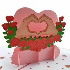 Love Heart pop up card