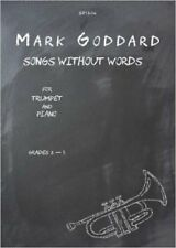 Goddard: Songs without Words for Trumpet and Piano, New, Mark Goddard Book