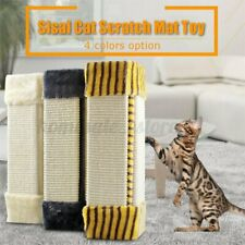 Pet Cat Claw Scratch Mat Sisal Corner Home Furniture Protector Toy Board Pad US