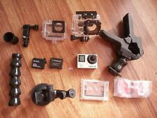 Gopro HERO 4 Black Edition 4K Action Camera Camcorder CHDHX-401 1008p with Extra