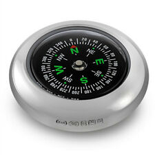 SOLID SILVER COMPASS (NEW) SUITABLE FOR ENGRAVING