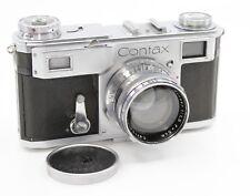 Contax II Rangefinder Camera Zeiss Sonnar 50mm F1.5 Lens #G8725