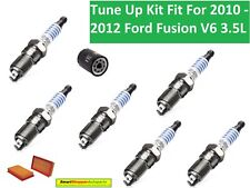 Air Filter Oil Filter Spark Plugs Tune Up for 2010 2011 2012 Ford Fusion V6 3.5L