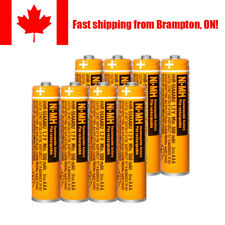 Panasonic 550mAh AAA Rechargeable Battery 1.2V NIMH Batteries for Cordless Phone