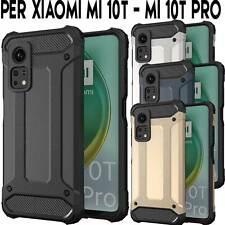 Custodia per Xiaomi Mi 10T e Mi 10T Pro Hybrid Armour TPU+PC Cover robusta