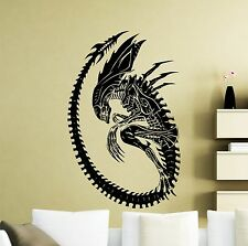 Alien Wall Decal Monster Alien Movie Vinyl Sticker Art Decor Home Mural (311su)
