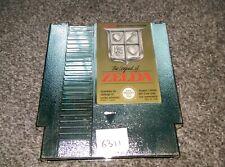 THE LEGEND OF ZELDA  - Rare GOLD Nintendo NES Game