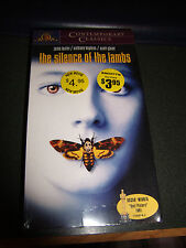 The Silence of the Lambs (VHS, 1999, Contemporary Classics) - Brand New!!!!