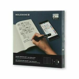 Moleskine Pen+ Smart Writing Set- Bluetooth Stylus Pen & 80-pg Notebook
