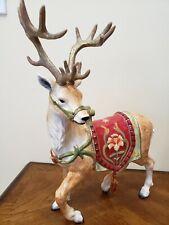 Fitz & Floyd Bellacara Holiday Deer Christmas Reindeer Figurine