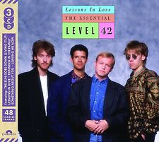 LEVEL 42 LESSONS IN LOVE THE ESSENTIAL 3 CD (Released 31st March 2017)