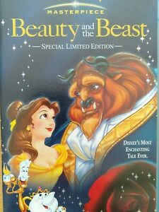 Disney Beauty And The Beast VHS Special Edition New/Sealed PAL Freepost Tracking