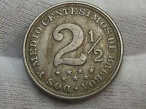 Better Date 1916 2½ Centesimos PANAMA.  #34