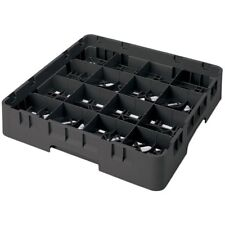 Cambro 16S1214110 Camrack® Glass Rack w/ 6 extenders, Full Size, Pack of 2