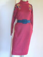 robe vintage Laine Chacok Made in France années 80