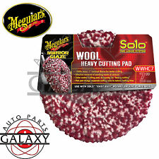 """Meguiar's Premium Car Care Products WRWHC 7"""" Rotary Wool Heavy Cutting Pad"""