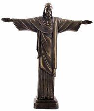 Veronese Bronze Figurine Religious Jesus Christ the redeemer Rio de Janeiro