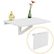 SoBuy® Folding Wood Wall-mounted Drop-leaf Table Desk, 60x40cm, FWT03-W,White,UK