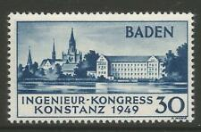 STAMPS-FRENCH ZONE. 1949. Engineers Congress - 2nd Printing. SG: FB46a. VLHM.