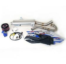 Duncan Fat Boy 4 Exhaust + Vortex ECU + Pro Design Pro Flow K&N Kit LT-R450 450