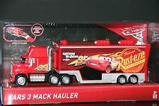 "DISNEY PIXAR CARS 3 ""MACK HAULER"" NEW IN PACKAGE, SHIP WORLDWIDE"