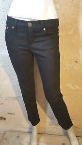 VICTORIA BECKHAM ROCK AND REPUBLIC W 26 Taille 36 pantalon jeans denim noir femm